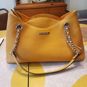 Jessica Simpson Mustard Yellow Purse